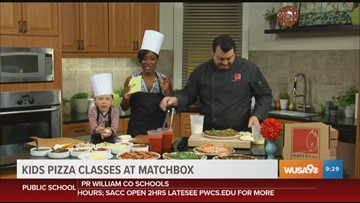 Cut your culinary chops with a pizza making class at Matchbox Vintage Pizza Bistro