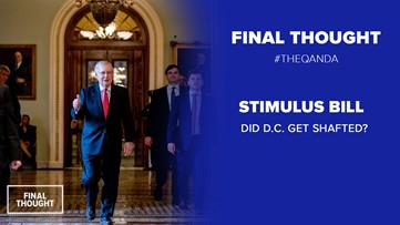 Did D.C. get shafted in the Stimulus bill?