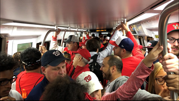 Metro: We're paying for World Series trains because Nationals management won't
