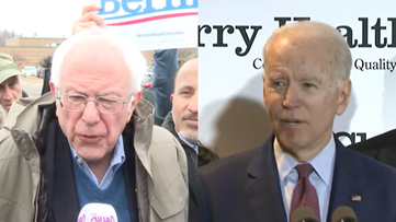 Democratic Candidates, Secret Service and Big Tuesday on March 10, 2020