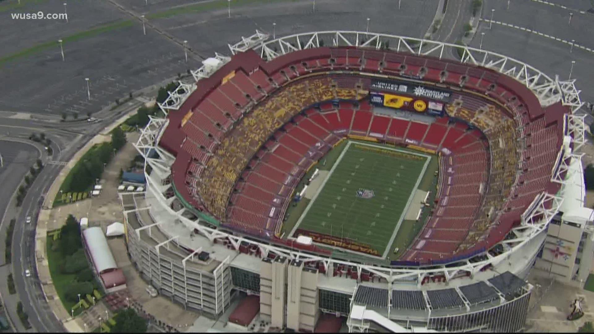 Washington Football Team No Fans At Fedex Field Wusa9 Com