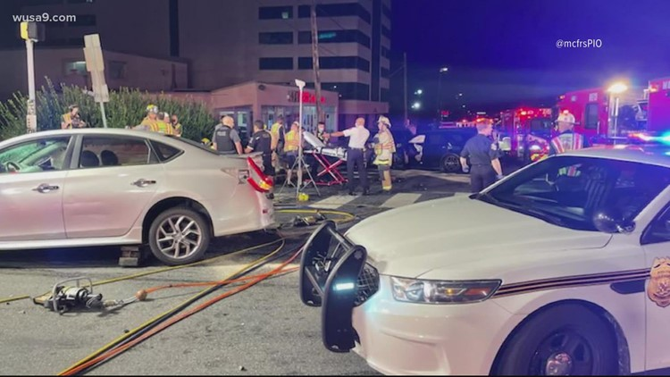 Several injured, including 2 children in serious multi-vehicle crash in Montgomery County