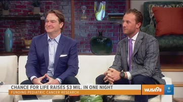 Chance For Life raises nearly $3 million in one night for childhood cancer research
