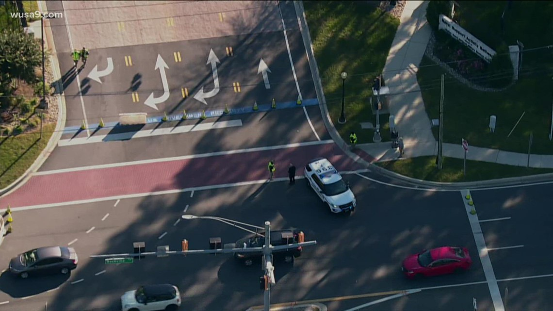 Sky9: Bomb threat prompts lockdown at Naval Support Activity Bethesda
