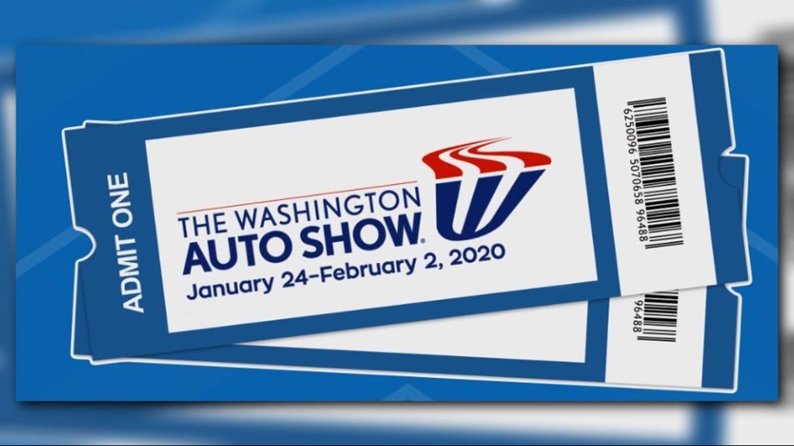 Win tickets to the Washington Auto Show