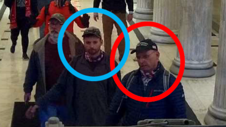 Father-son pair arrested in Capitol riot claimed 'Antifa' was behind damage