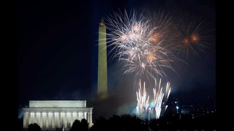 Katy Perry, Lady Gaga and the secret DC fireworks show on inauguration night