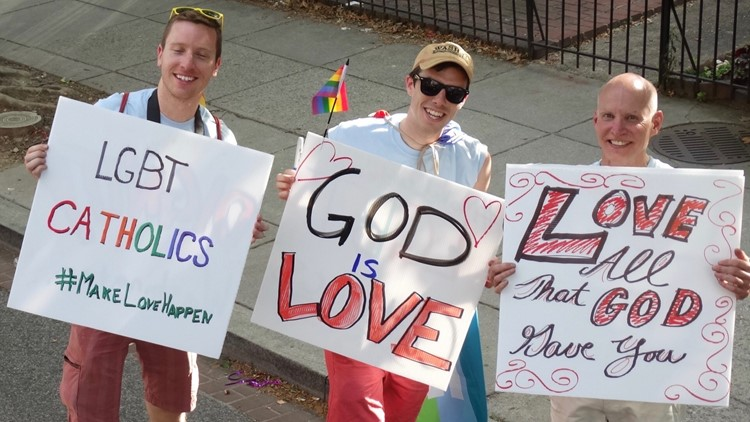 LGBTQ Catholics call pope's endorsement of same-sex civil unions an 'important and powerful step'