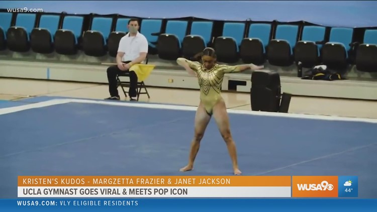 Kristen's Kudos:  UCLA Gymnast goes viral