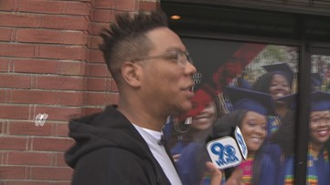 Get Up Give Back surprises Howard University students by handing out $1K in cash.