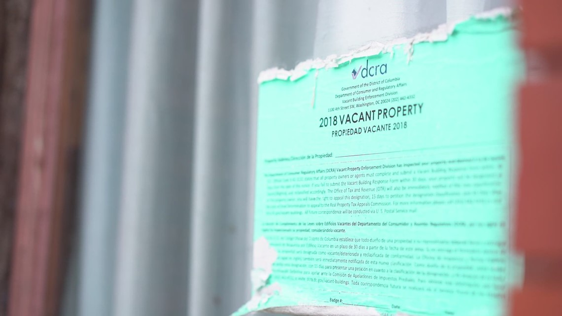 DC neighborhood taking stand against vacant buildings
