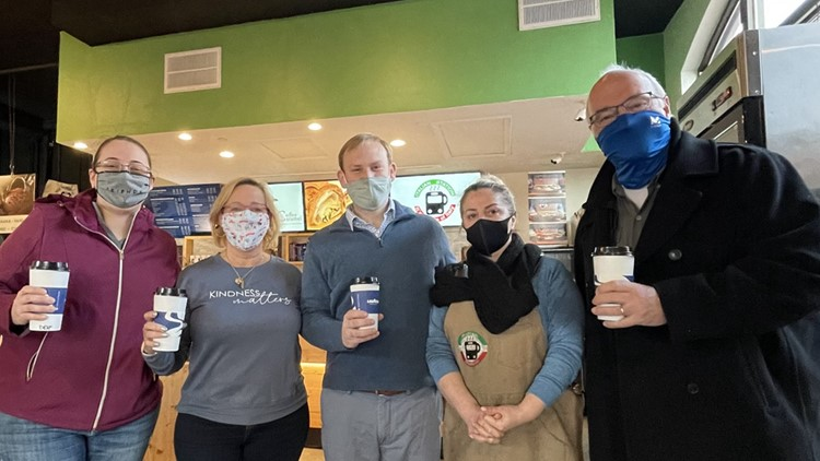 Paying for the person behind you: Thousands participate in Virginia coffee shop's pay it forward movement