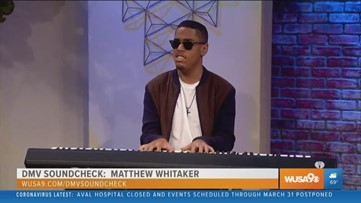 DMV Soundcheck: Pianist Matthew Whitaker is creating a vision with music