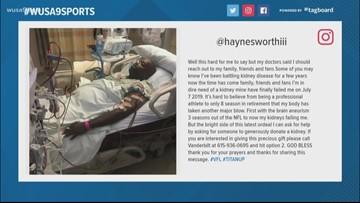 Former Redskin Albert Haynesworth needs kidney transplant