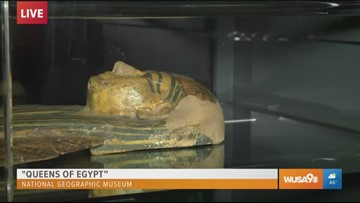 """""""Queens of Egypt"""" at the National Geographic Museum"""