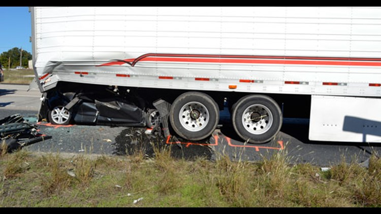 Rear Underride Accident