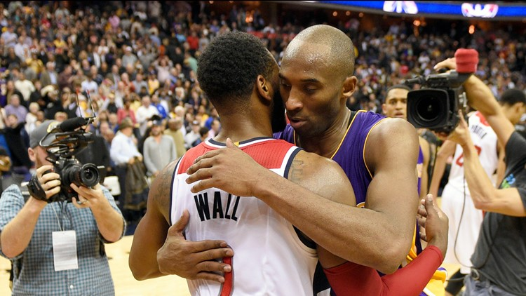 Wizards John Wall, other D.C. athletes react to Kobe Bryant's death