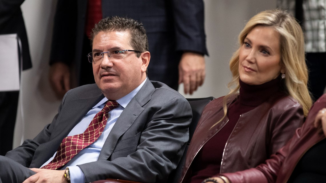 Tanya Snyder, owner Dan Snyder's wife, named co-CEO of Washington Football Team