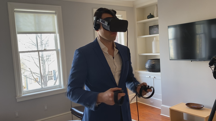 Equal Reality VR headset & controllers
