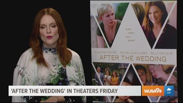Award winning actress Julianne Moore talks about her new movie, 'After The Wedding'