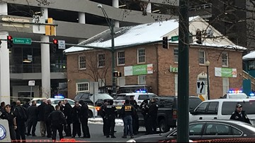 Suspect fatally shot after attempted armed bank robbery in Silver Spring
