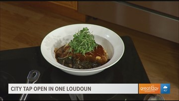 See this tasty regionally inspired dish from City Tap