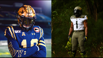Who wears it better: Army-Navy game to feature special uniforms for both academies