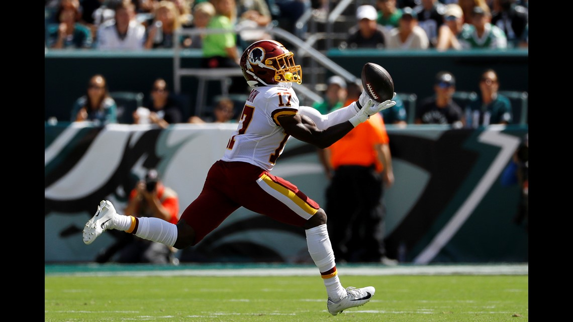 Redskins lose to Eagles in first game of the season