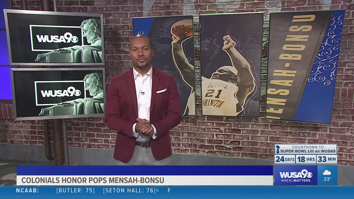 Colonials honor Pops Mensah-Bonsu