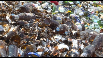 Fairfax County residents can no longer recycle glass curbside