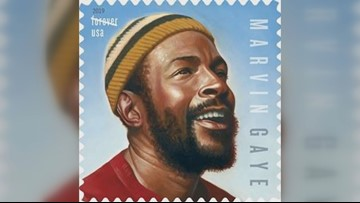 DC native Marvin Gaye featured on US postage stamps