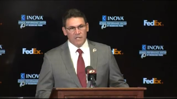 Redskins welcome new head coach Ron Rivera to Washington