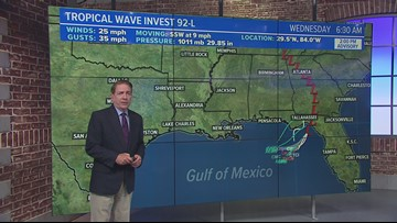 Trouble in the tropics: Gulf coast on tropical watch this week