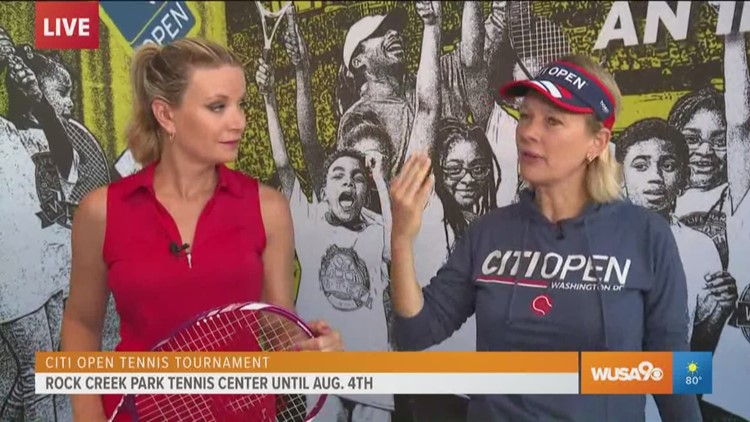 Help serve the community at the Citi Open Tournament