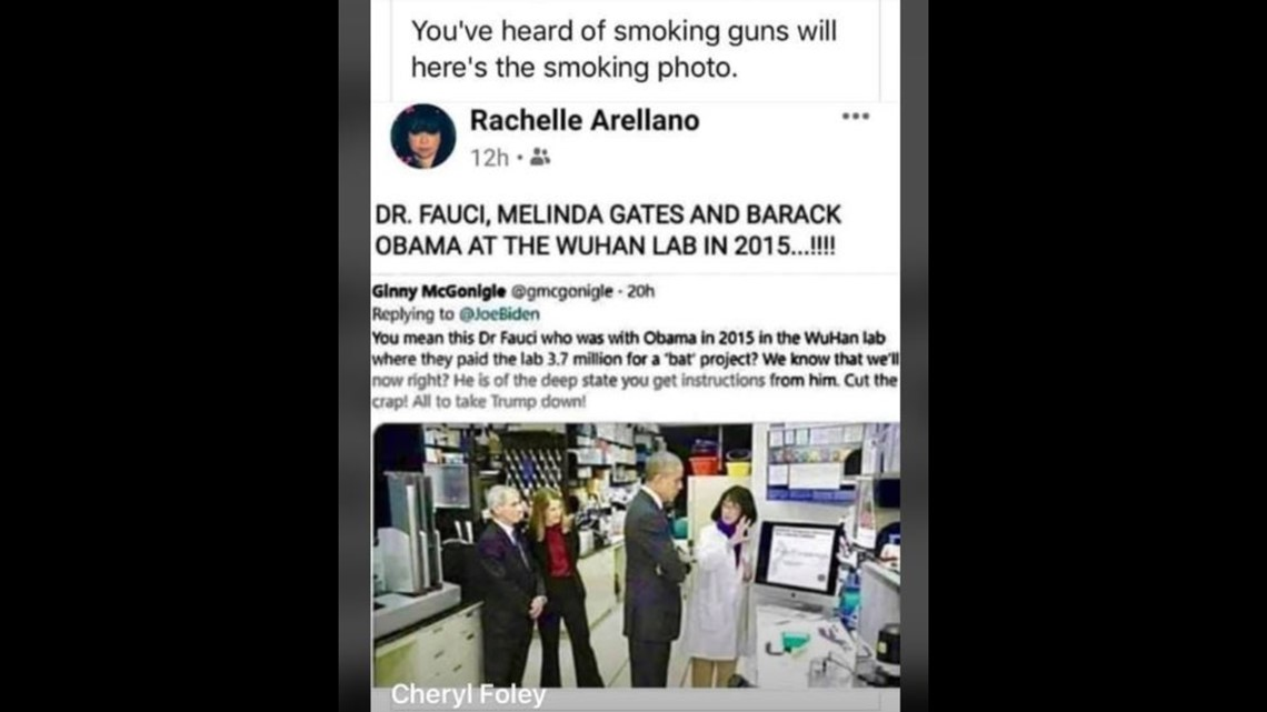 VERIFY: No, this photo doesn't show Obama in Wuhan in 2015   wusa9.com