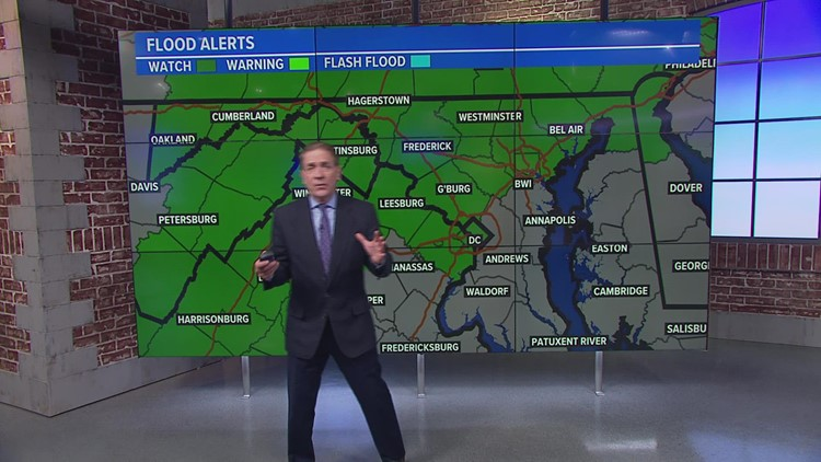 Thousands of power outages reported in DMV as thunderstorms roll through