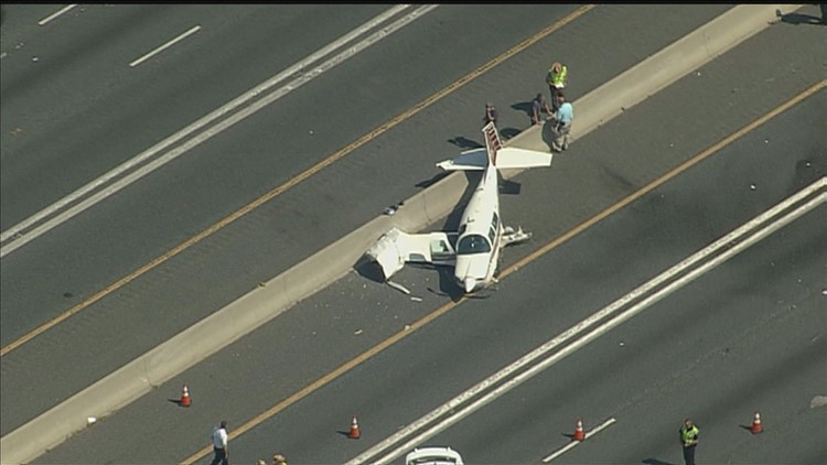Plane Crash on Route 50