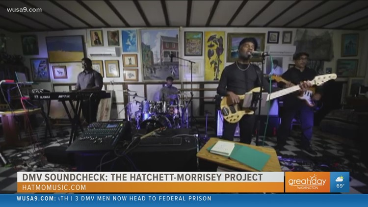The Hatchett-Morrisey Project shares a message for everyone to use their natural talents in this week's DMV Soundcheck