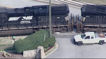 Traffic alert: Freight train derails in Fairfax County