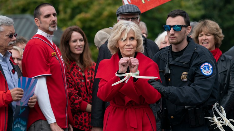 VERIFY: Is Jane Fonda's treatment consistent with DC criminal procedure or is she getting special treatment?