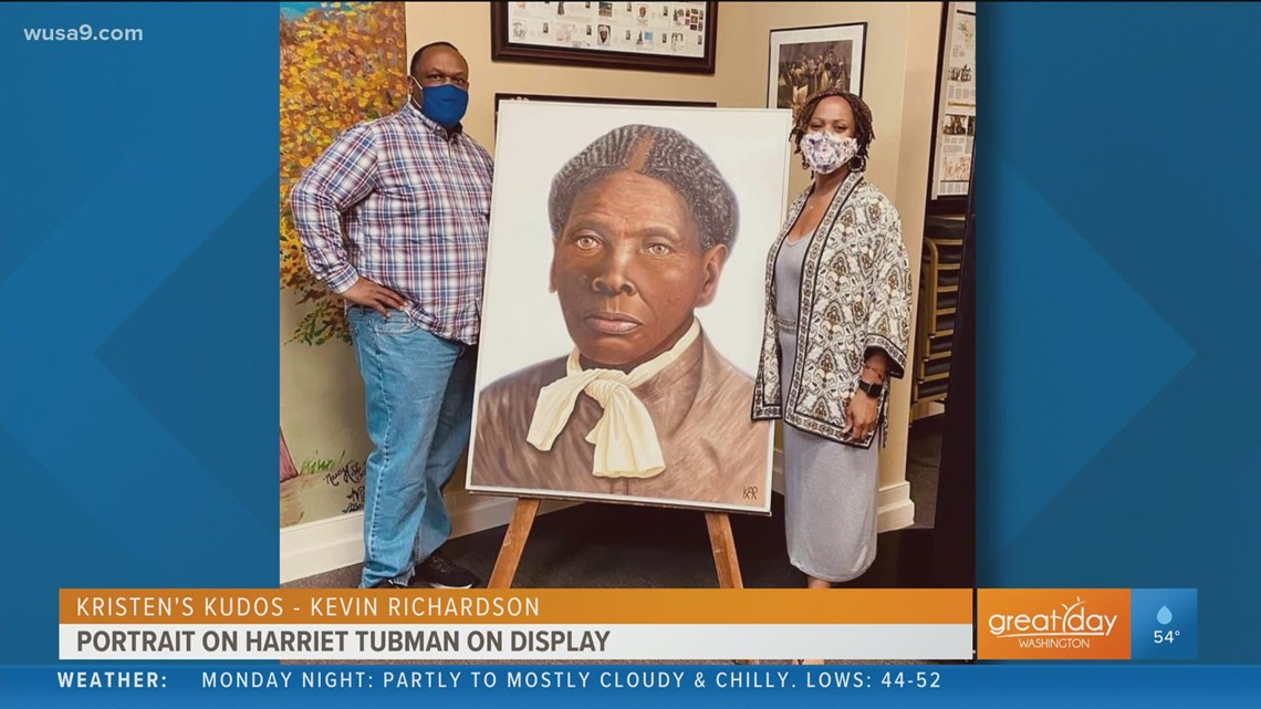 Baltimore Sun visual journalist unveils his portrait of Harriet Tubman