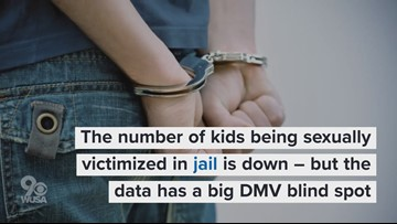 The number of kids being sexually victimized in jail is down – but the data has a big DMV blind spot