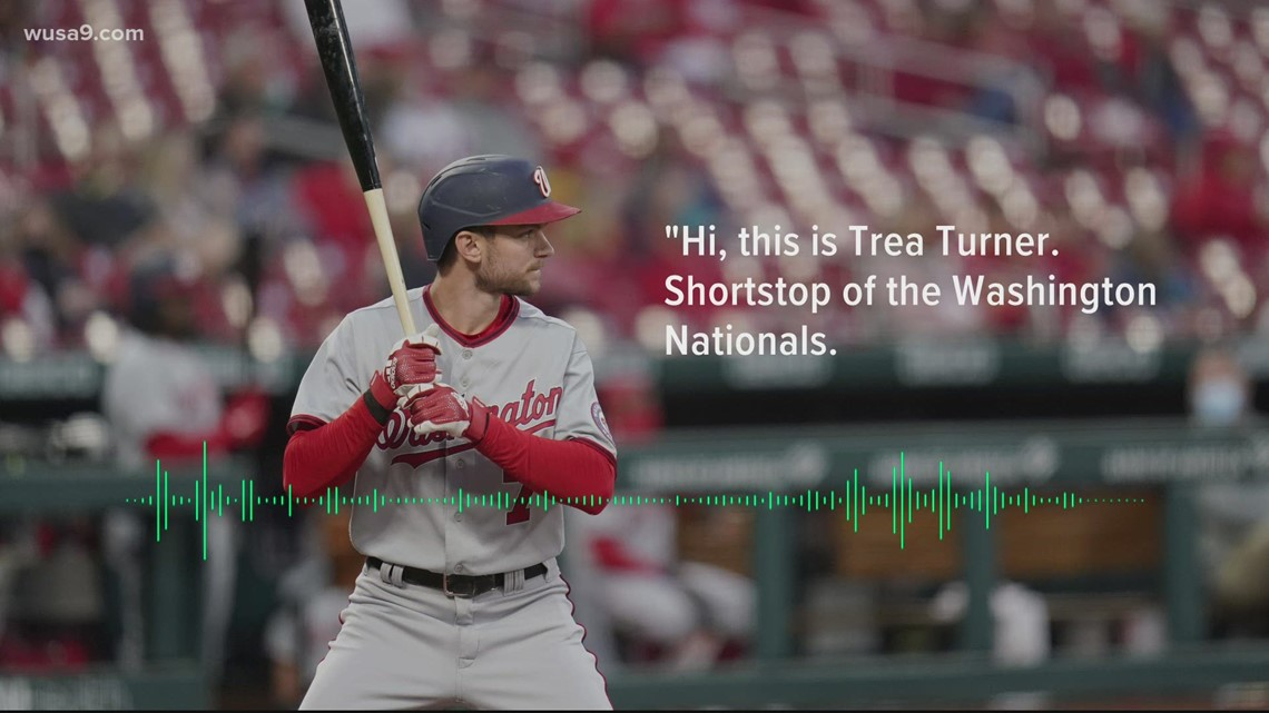 Washington Nationals players are sending voicemails to DC residents | It's a DC Thing