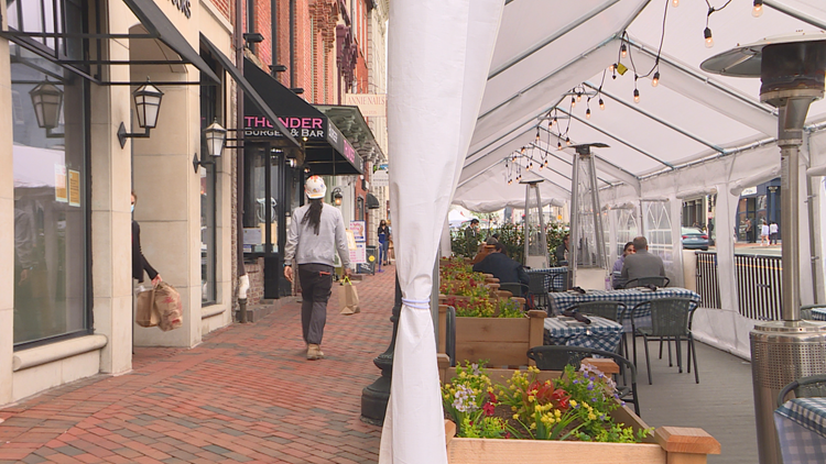 Georgetown restaurants add decks, create more sidewalk space for pedestrians