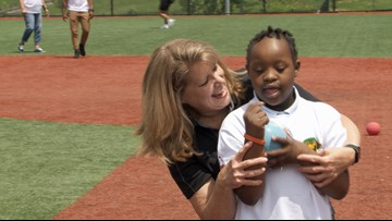 Students with special needs skip school to play baseball