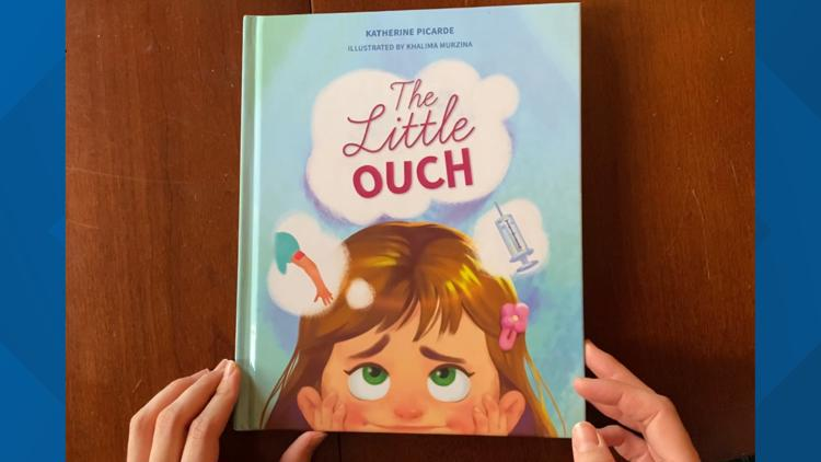Teacher authors book to help kids overcome fear of vaccines