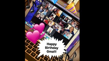 We're all in this together: Family surprises Grandma with virtual 92rd birthday party