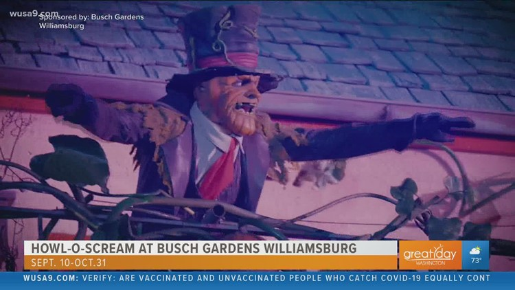 Goblins and ghouls takeover Busch Gardens during the annual Howl-O-Scream event
