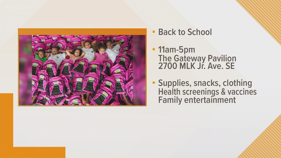 Back-to-school event aims to help students with free supplies