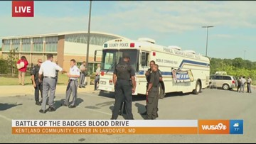 The Battle of the Badges Blood Drive kicks off in Prince George's County
